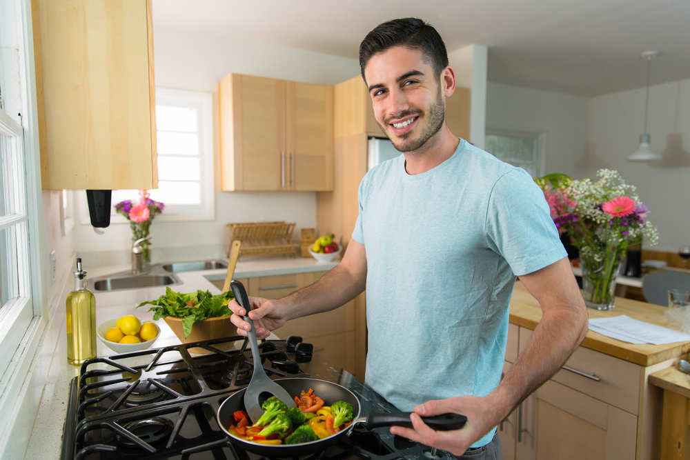 Cocinas de estilo masculino