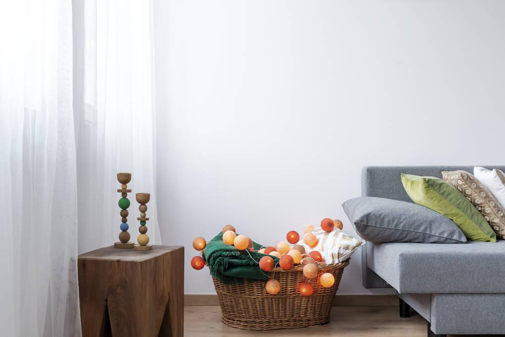 Todo lo que una cesta puede hacer por la organización de nuestro hogar