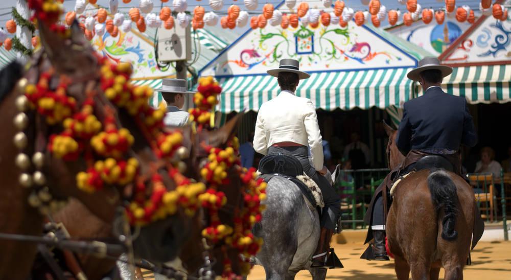 Una tarde en la Feria de Sevilla