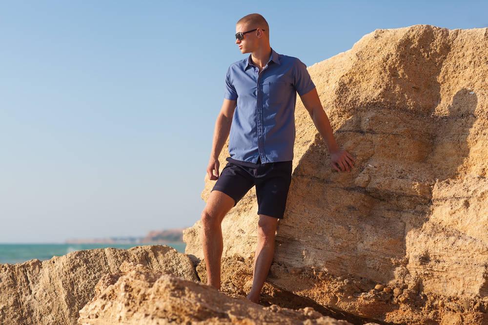 Moda cool en verano para hombres cool